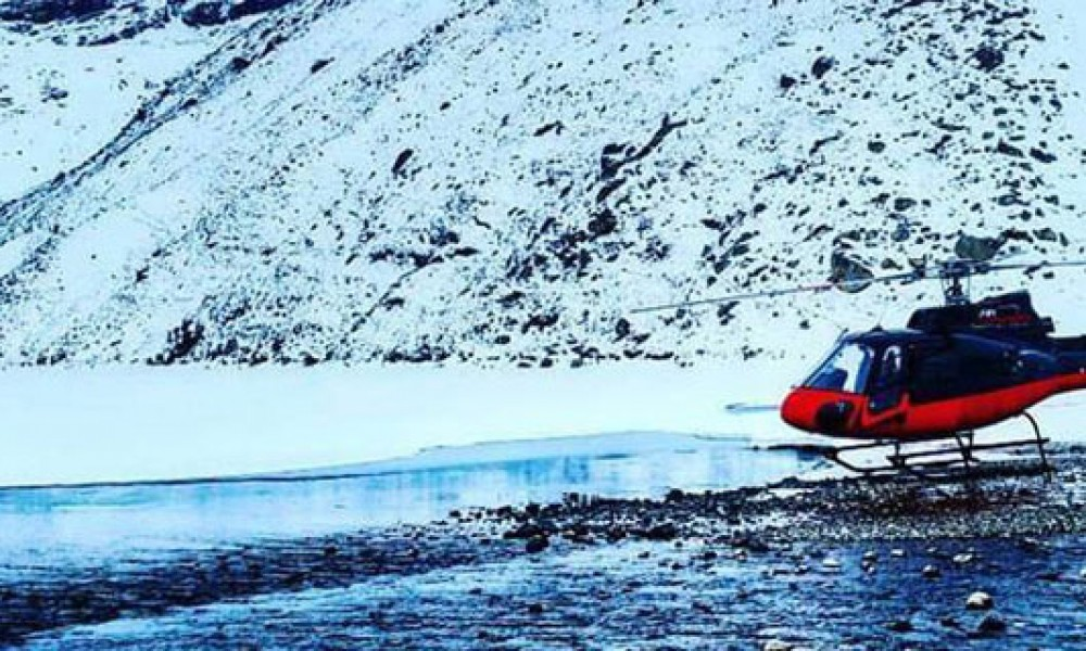 EBC Trek & Fly back by Helicopter